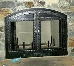 Arched Fireplace Doors by Lazy K Custom Fireplace Doors