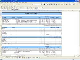 Event Planning Spreadsheet Template Free Budget Template Downloadtarget