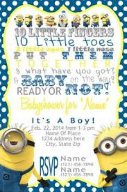 minion baby shower minion baby shower invitations minion baby shower should be