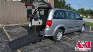 dodge work van wheelchair vans for sale