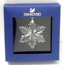 swarovski snowflakes collection on ebay