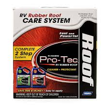 amazon com camco 41453 pro tec pro strength rubber roof care