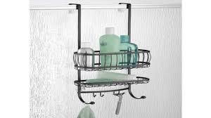 Door Shower Caddy Interdesign Forma The Shower Door Shower Caddy Hook Holder