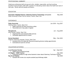 resume template for high students australian animals exles of resumes barista resume template job description horse