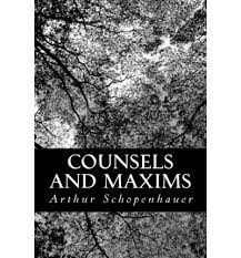 Counsels And Maxims By Arthur Schopenhauer Pdf Philosophy Aesthetics Best Ebooks For In High Quality