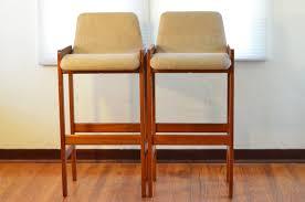 wooden bar stools with backs that swivel bar stools mid century modern teak wood bar stools with