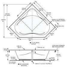 Bathtub Sizes Standard Corner Soaker Tub Dimension U2013 Seoandcompany Co