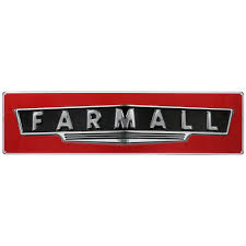case ih home decor farmall sign large embossed steel signs shop case ih
