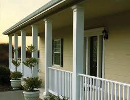 decorative fiberglass columns and posts for deck and porch