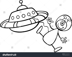 spaceship clipart martian pencil and in color spaceship clipart