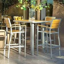 high bar table and chairs outdoor high top bar tables and chairs myforeverhea com