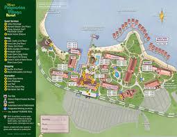 Disney Map Disney S Polynesian Resort Map Wdwinfo Com And Of World Resorts