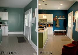 Kitchen Wall Painting Ideas Budget Kitchen Updates Accent Wall And Faux Painted Backsplash