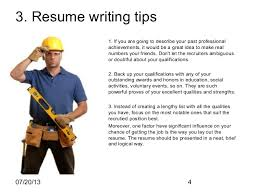 Resume For Construction Job by Construction Worker Resume Sample