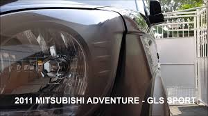 mitsubishi adventure gx 2011 mitsubishi adventure gls sport youtube