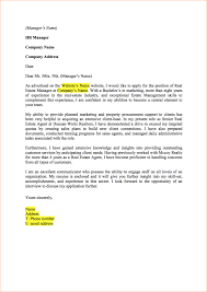 real estate cover letter examples gallery cover letter ideas