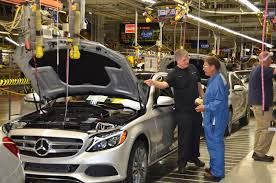 mercedes tuscaloosa mercedes starts c class production at alabama plant