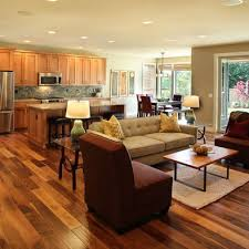 Living Room And Kitchen by Elegant Open Living Room And Kitchen Designs Ideas Also Interior