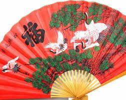 oriental fan wall hanging chinese hanging fan etsy
