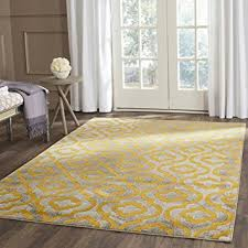 Yellow Area Rugs Safavieh Porcello Collection Prl7734c Light Grey And