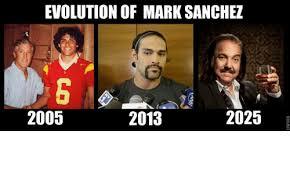 Mark Sanchez Memes - evolution of mark sanchez 2025 2005 2013 meme on esmemes com