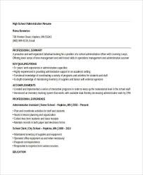 resume templates for administrative officers exam support quotes 29 administration resume sles pdf doc free premium