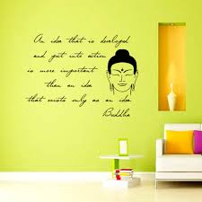 inspiring sentence buddha wall sticker living room removable vinyl inspiring sentence buddha wall sticker living room removable vinyl art decals home decor black
