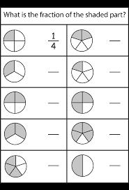 3rd grade fraction worksheets u2013 wallpapercraft