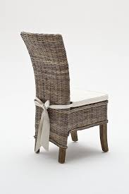 Round Back Patio Chair Cushions Dining Room Grey Rattan Dining Chairs Wicker Sofa Outdoor Chairs