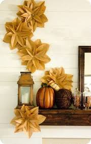 Fall Homemade Decorations - don u0027t be afraid to utilize the wall as part of your home decor