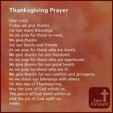 psalm prayer of thanksgiving festival collections