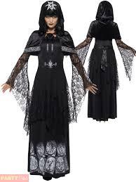 Men Black Halloween Costume Black Magic Halloween Fancy Dress Dark Arts Voodoo Costume Men