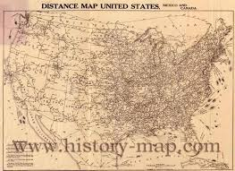 Unites States Map by Distance Map United States