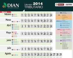 vencimientos renta personas dian 2016 calendario tributario colombia 2015 la economia de hoy