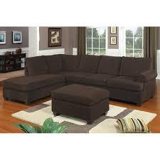 Corduroy Sectional Sofa Chocolate Corduroy Reversible Chaise Sectional Sofa