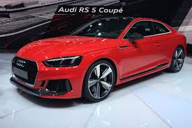 audi rs5 coupe audi rs5 revealed audi sport delivers its post rebrand