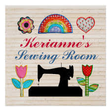 Sewing Room Decor Sewing Room Decor Posters Zazzle