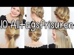 Frisuren Schulterlanges Haar Flechten by 10 Alltagsfrisuren In 5 10 Minuten Schule Uni