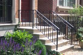 Outdoor Banister Rod Iron Railing For Interior And Exterior Decorations Homesfeed
