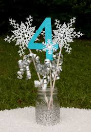 Homemade Table Centerpieces For Parties by Best 25 Frozen Party Ideas On Pinterest Frozen Birthday Party