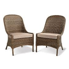 Target Threshold Patio Furniture Mayhew 2pk All Weather Wicker Dining Chair Threshold Target