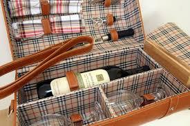 wine picnic basket wine picnic basket bag pizazz gifts