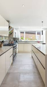 kitchen island range a small modern domestic kitchen with a stainless steel range