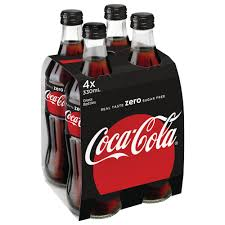 Coca Cola Six Flags Promotion Coca Cola Zero Glass Bottles 330ml 24 Pack Officeworks