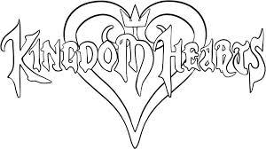 kingdom hearts coloring page