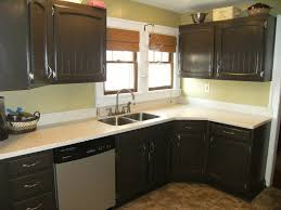 repainting old kitchen cabinets classy painting old kitchen cabinets regarding image of painted