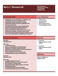Resume Templates For Professionals Modern Resume Templates 64 Examples Free Download