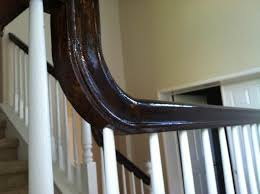 stained banister doesn u0027t look right please help doityourself