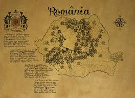 Ancient Map Romania Ancient Map By Zaigwast On Deviantart