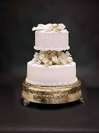 gold wedding cake stand simply weddings cake stands silver gold silver cake